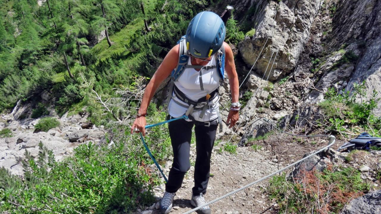 Klettersteig Lienz : Klettersteig verborgene welt lienzer dolomiten osttirol youtube