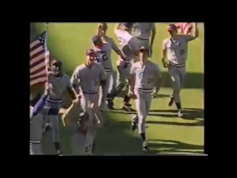 1988 US Olympic baseball victory newsclip