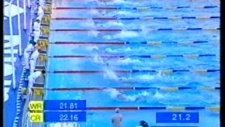 1998 | Michael Klim | Bronze 50m Freestyle | World Swimming Championships | 22.57