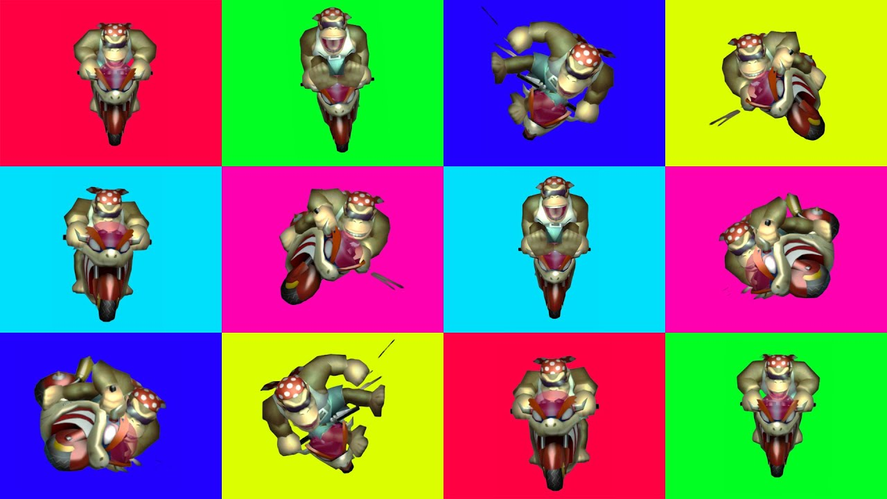 Everyone is FUNKY KONG Knockout Tournament - Mario Kart Wii 150cc