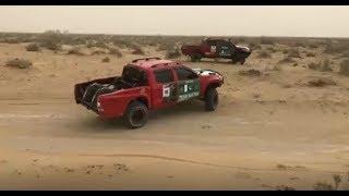 Testing the race vehicles in Cholistan desert #SahibzadaSultan #TeamSultan