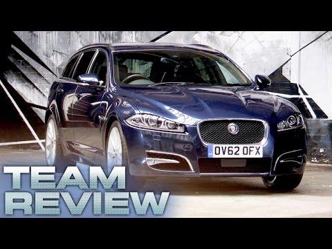 Jaguar XF Sportbrake Team Review Fifth Gear