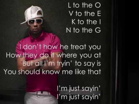 Love King by The Dream w/ on screen lyrics