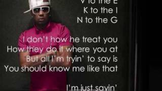 Love King by The Dream w/ on screen lyrics