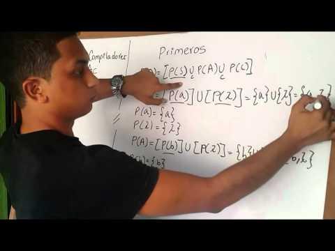 Compiladores – ANÁLISIS SINTÁCTICO DESCENDENTE Daniela Picoиз YouTube · Длительность: 15 мин5 с