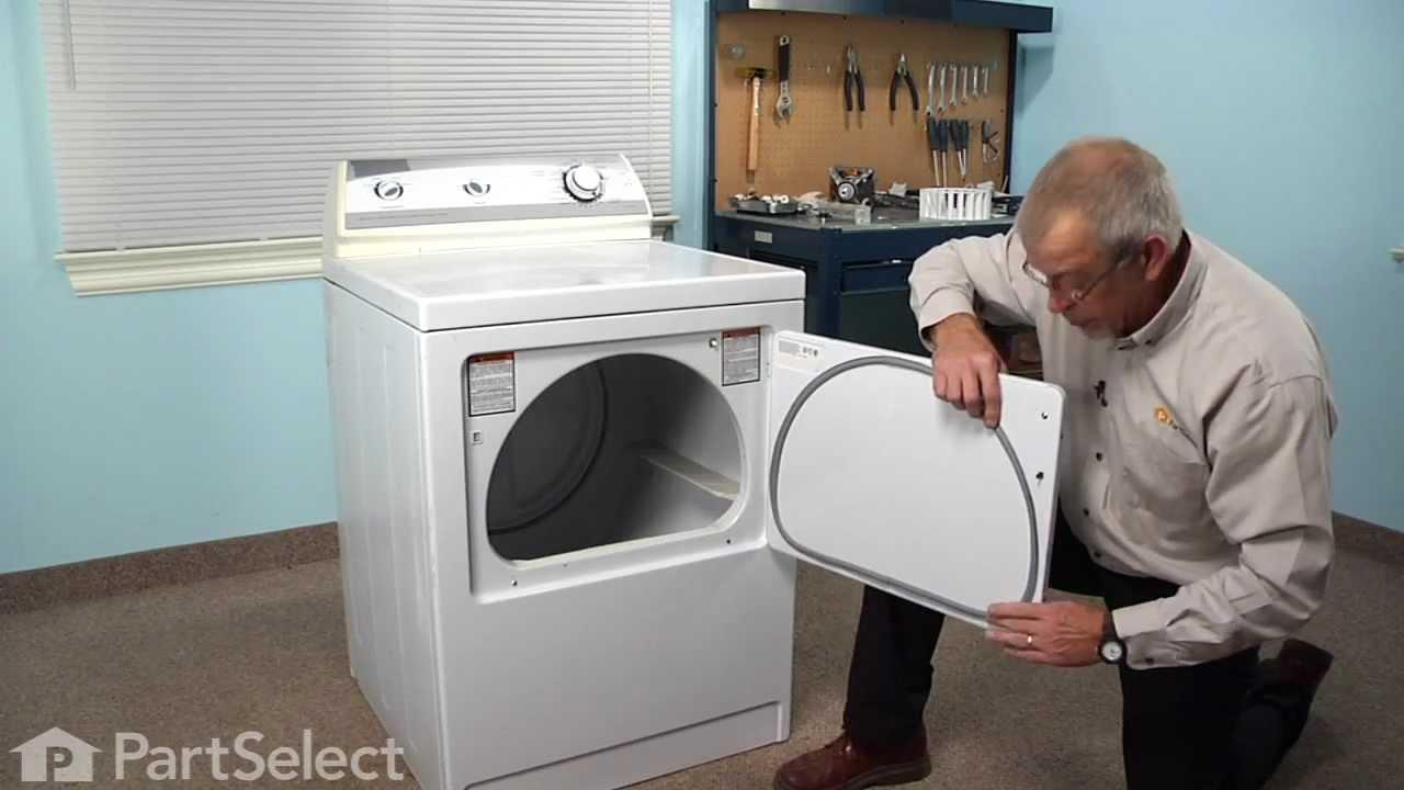 Dryer Repair Replacing The Door Seal Whirlpool Part
