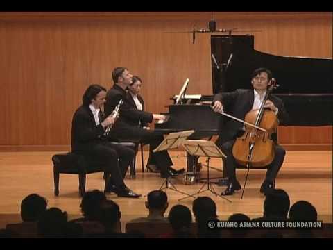 Sung-Won Yang, Romain Guyot & Emmanuel Strosser:  Brahms Clarinet Trio Op.114, Adagio [sent 96 times]