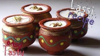 punjabi lassi recipe - easy and quick