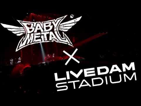 BABYMETAL「紅月-アカツキ-」 LIVE DAM STADUIM コンテンツCM