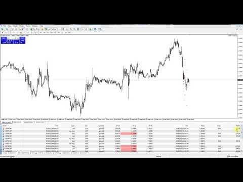 Real Live Trading Day 1 - Optim Trader Expert Advisor