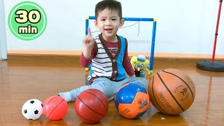 Color Song and Learn Colors with Balls & More Activities for Kids Can Play at Home - Xavi ABCKids