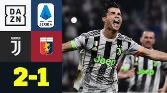 90+5! Ronaldos Last-Minute-Elfer rettet Juve drei Punkte: Juventus - CFC Genua 2:1 | Serie A | DAZN