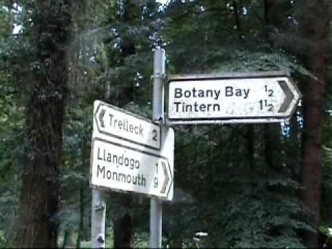 ANYONE FOR TINTERN TEA? Not far from Botany Bay, Wales.
