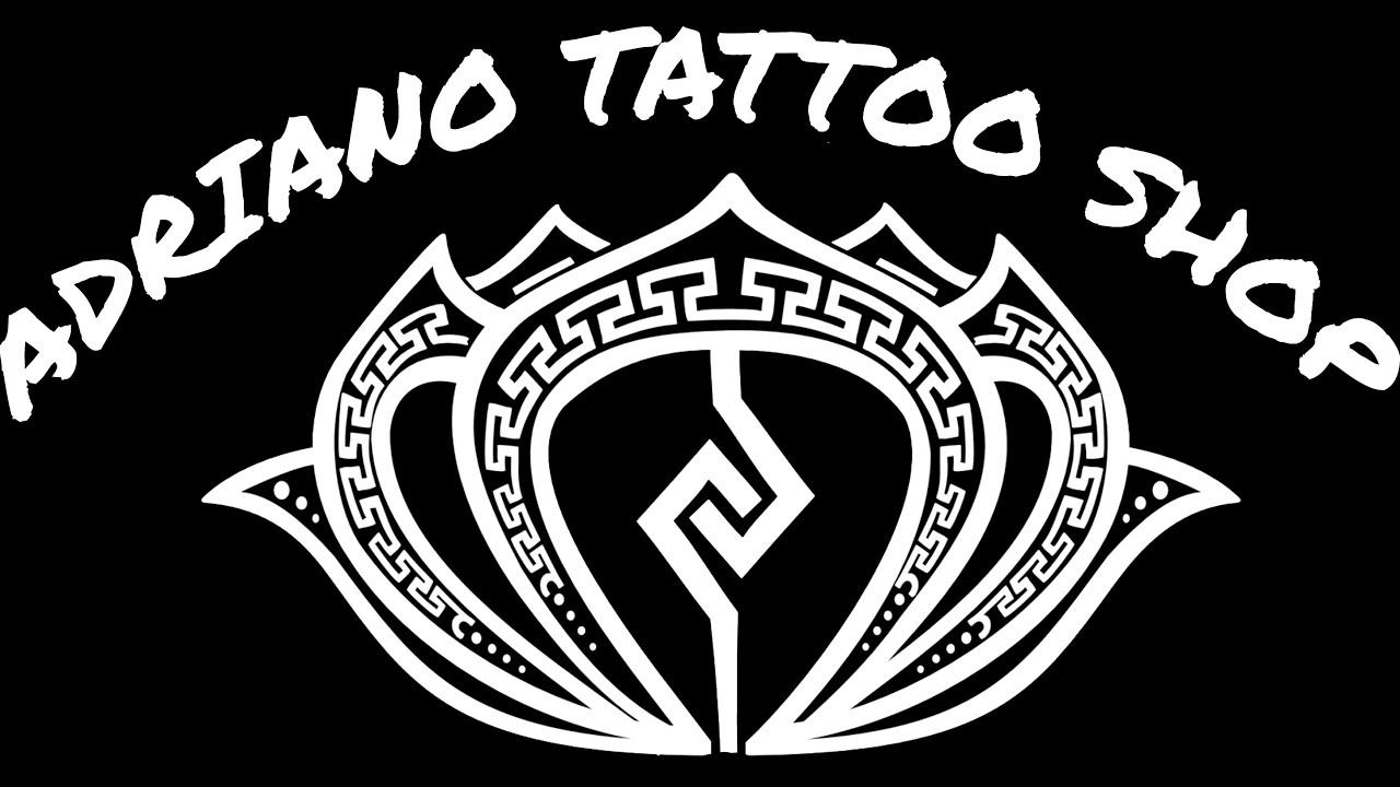 Estutando Tatuagem Aplicação Sólida de Tinta (preenchimento)