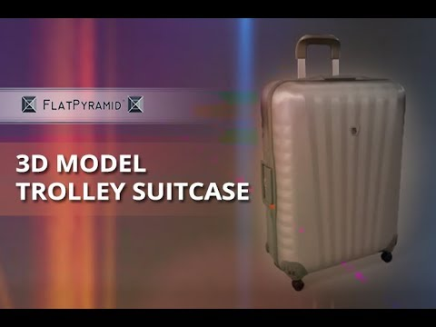 3D Model Trolley Suitcase Review