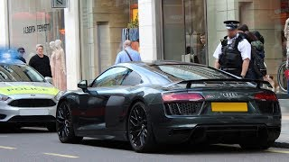 Police VS Supercars - Audi R8 Gets Busted In Central London!
