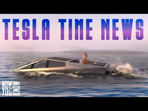 Tesla Time News - Tesla Cybertruck Boat!?