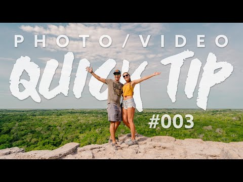 How we photograph OURSELVES – Travel Photography TIP