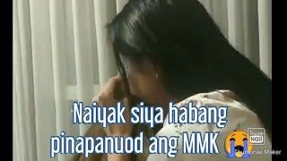 Maymay Entrata's reaction sa MMK episode nila ni Edward Barber |