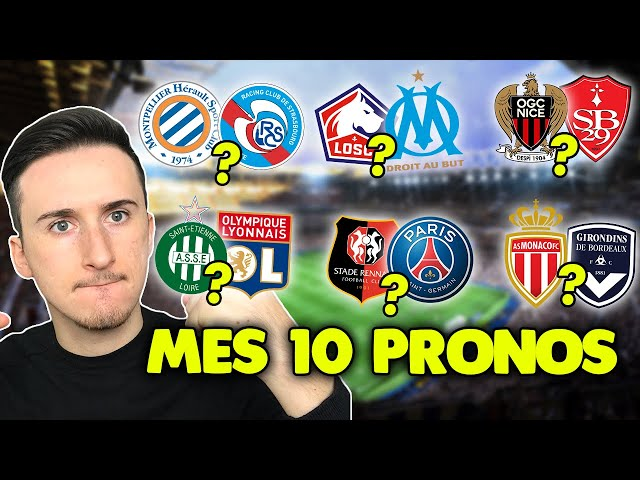 Pronostic foot LIGUE 1 : Mes 10 pronostics (Ligue 1) *épisode 9*