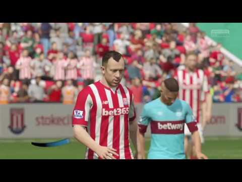 Stoke v west ham last game of season 15/16