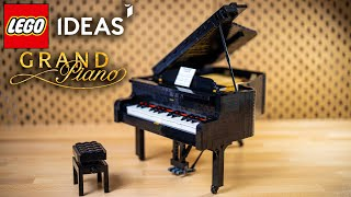Is this worth $350? | LEGO IDEAS Grand Piano Review