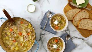 Pork and Cabbage Soup - Martha Stewart