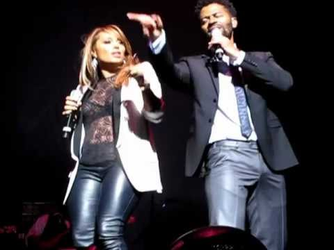 ERIC BENET & TAMIA  SPEND MY LIFE WITH YOU  @ THE BEACON THEATER  JUNE 27, 2012
