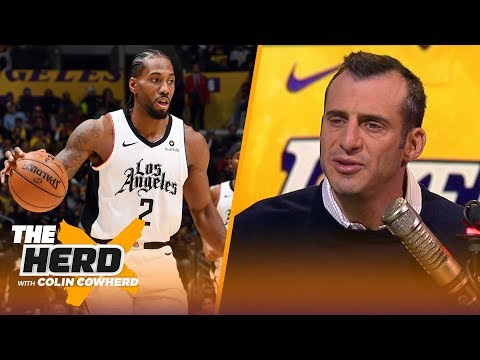 Kawhi, not LeBron, was clearly the best player on the floor on Christmas  Gottlieb | NBA | THE HERD