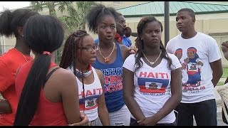 Students suspended for celebrating Haitian flag