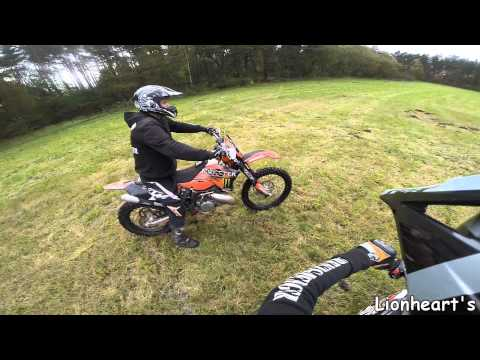 Angry People Ktm 300 350exc Wheelie Fail Lionhearts