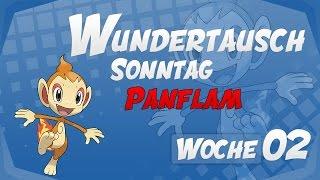 Wundertausch Sonntag - Woche 02 (Panflam) - Pokémon Omega Rubin und Alpha Saphir (ΩR/αS)