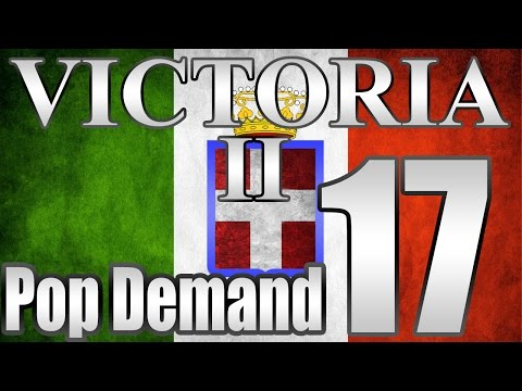 "Victoria 2 Italy Pop Demand Mod ""Mad Dash for Africa!"" EP:17"