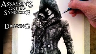 Assassin's Creed Syndicate - Evie Frye Drawing - Fan Art Time Lapse