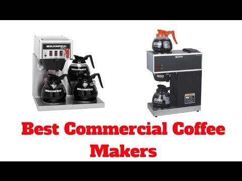 best commercial coffee makers top 5 list