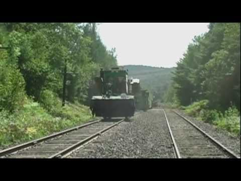Railway Infrastructure in Northern Maine - YouTube