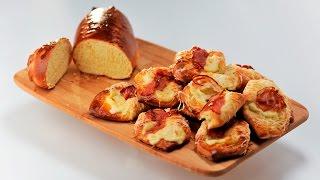 Хлебные конверты и апельсиновый хлеб | Теле-теле-тесто