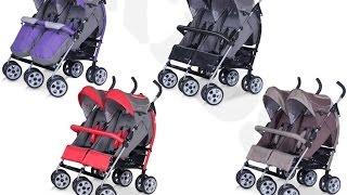 Zwillingsbuggy Duo Comfort: Geschwisterkinderwagen im Test von LCPKids