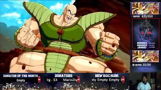 Dragon Ball Fighterz Sitdown - Bum1six3 vs DragonGod FT 10