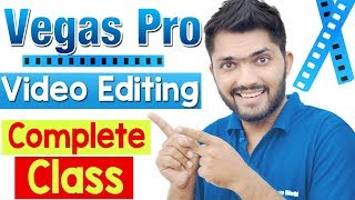 How To Create Text Behind Object Effect - Sony Vegas Tutorial.
