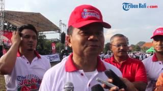 Download Video Jalan Asik Tribun Bali Berlangsung Meriah MP3 3GP MP4