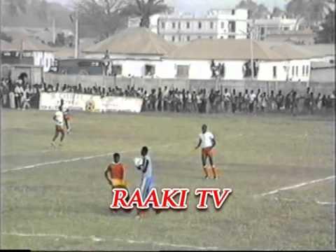Football @ Box Bar Stadium in Banjul