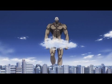 One punch man: saitama vs Titan