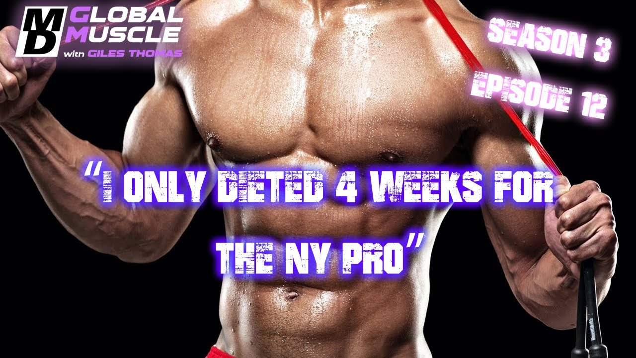 Download JUSTIN RODRGUEZ & AJ SIMS: I ONLY DIETED FOR 4 WKS FOR THE NY PRO   MD GLOBAL MUSCLE CLIPS S3 E12