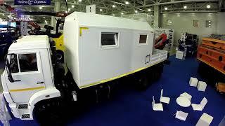 видео ГАЗ представил новую спецтехнику