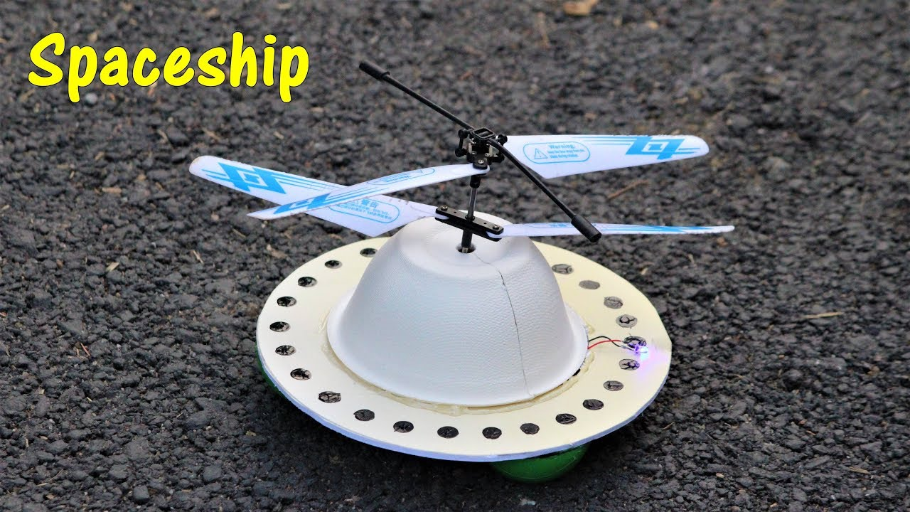 how to make a ufo that flies