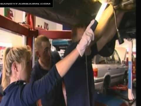 The Garage - Sandy Fairbairn - First Day At The Garage