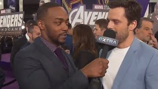 Anthony Mackie and Sebastian Stan (Stackie) being Best Friend Goals Part 3 !