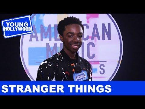 Stranger Things's Caleb McLaughlin: On Scaring Millie Bobby Brown!