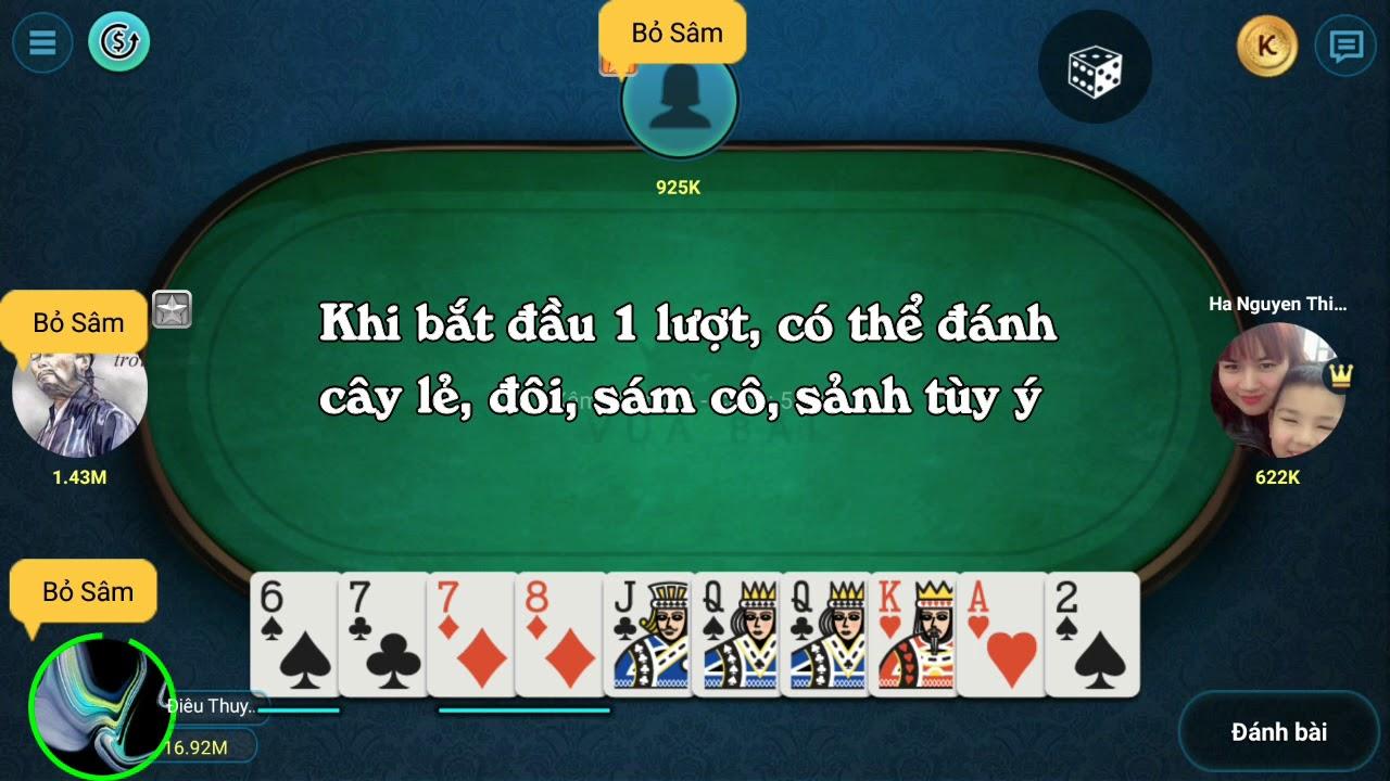 Cách chơi bài Sâm Lốc (Xâm) – Chơi sâm lốc online miễn phí tại Weme